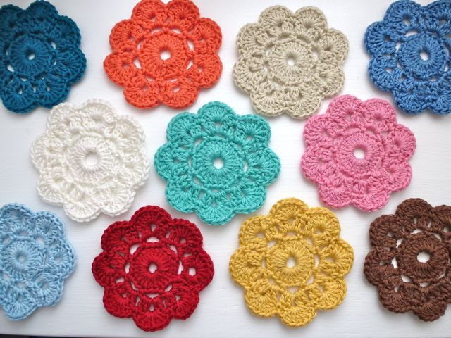 10 Adorable Crochet Flowers Beautiful Crochet Stuff