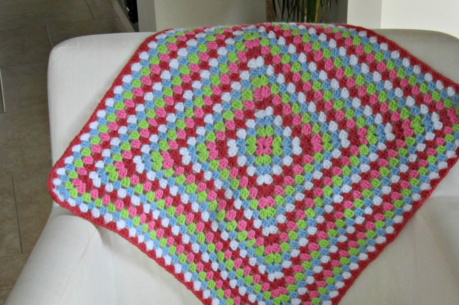 How To Crochet A Granny Square Blanket Pattern : Beautiful Granny Square Inspiration Beautiful Crochet Stuff