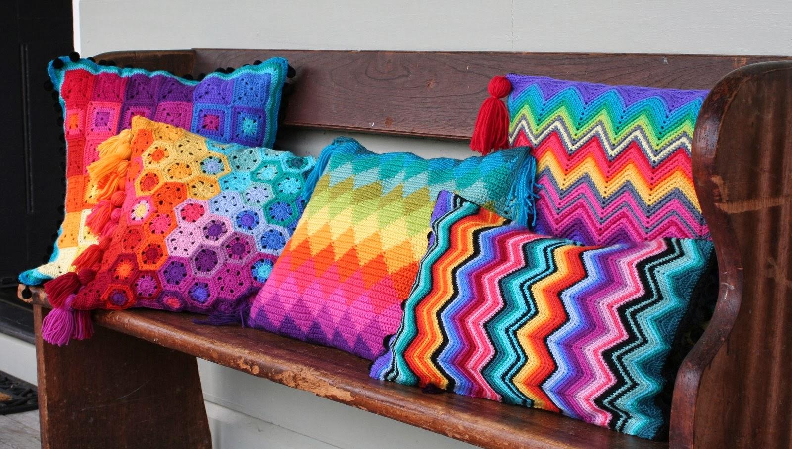 Top 10 Crochet Pillows Beautiful Crochet Stuff