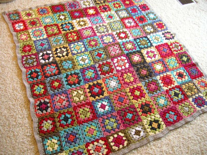 Beautiful Granny Square Inspiration Beautiful Crochet Stuff