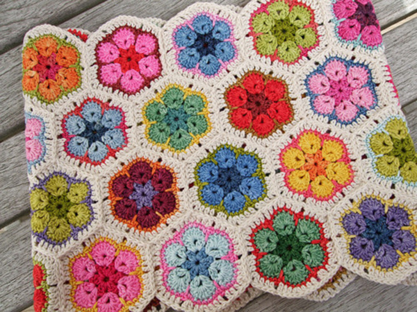 African Flower Pattern Beautiful Crochet Stuff