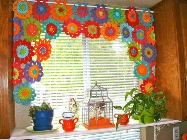 14 Cute Kitchen Curtains Beautiful Crochet Stuff