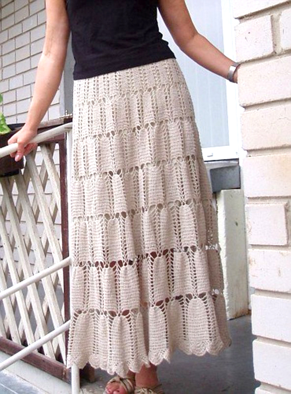 Top 10 Crochet Skirts Beautiful Crochet Stuff