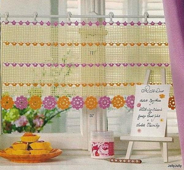14 Cute Kitchen Curtains Beautiful Crochet Stuff
