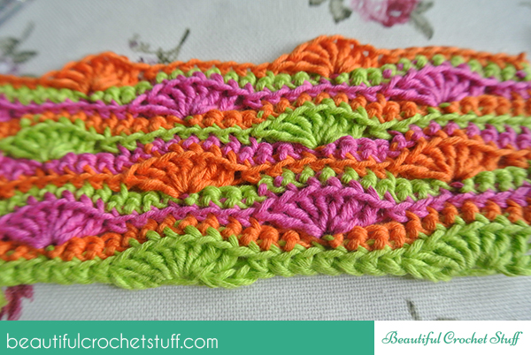 Bright Shells Free Crochet Tutorial Beautiful Crochet Stuff