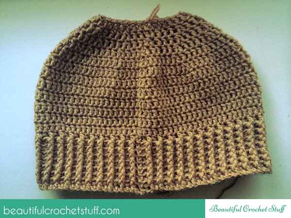How To Crochet A Beanie Hat Free Pattern Beautiful Crochet Stuff
