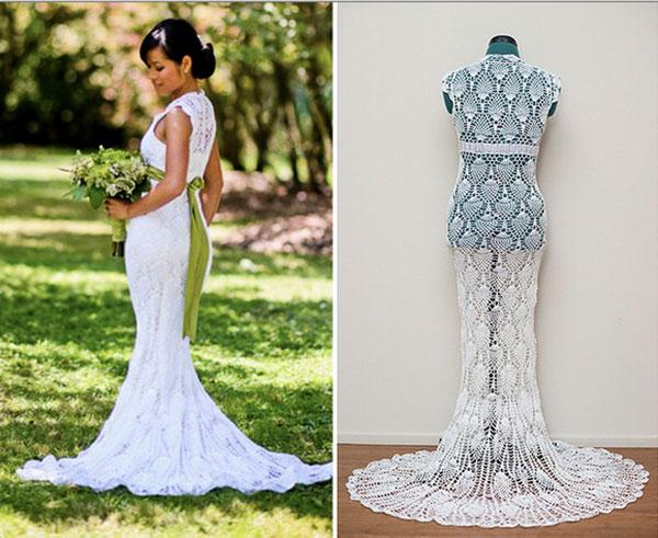 free crochet wedding dress patterns   Wedding