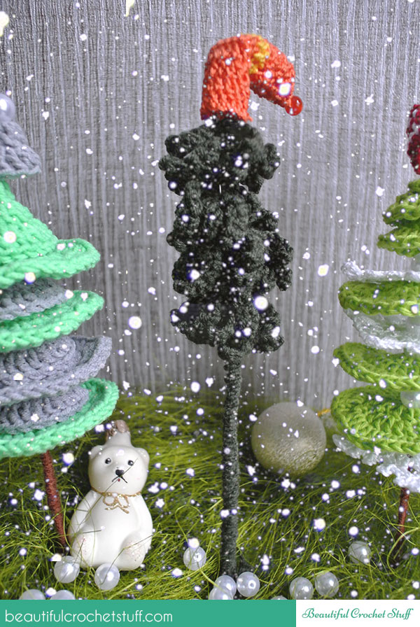 crocheted christmas tree pattern