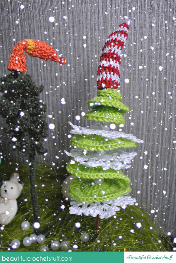 crocheted cristmas tree free pattern
