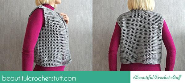 crochet-vest-free pattern
