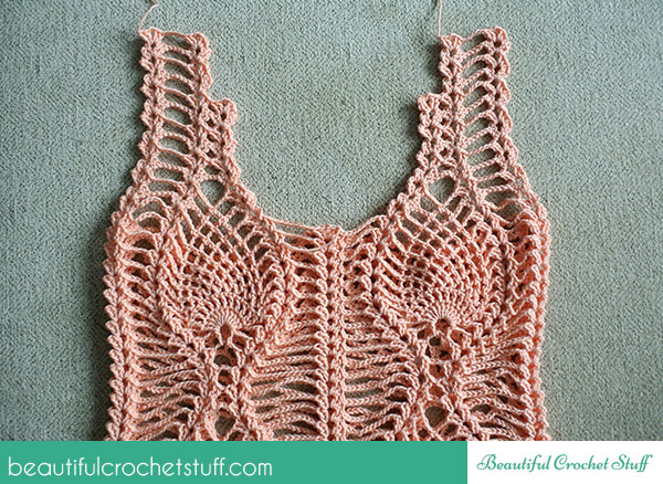 Free Patterns Crochet Tops : Pin Crochet Top Free Pattern on Pinterest