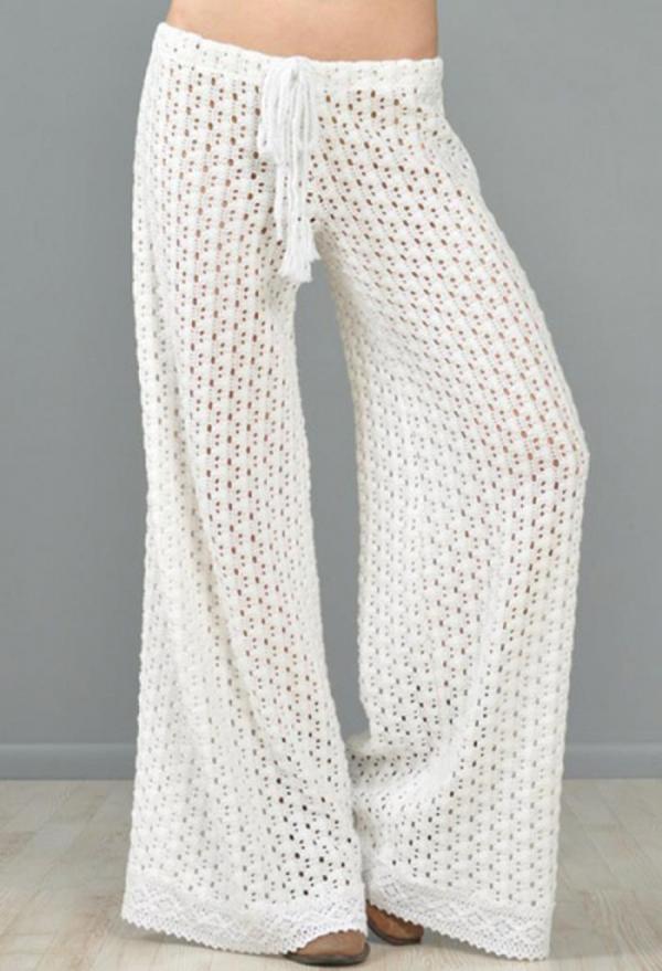 Вязаные юбки сарафаны