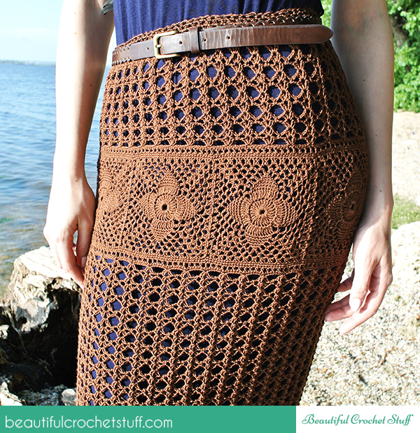 Free Crochet Pattern Maxi Skirt : Crochet Maxi Skirt Free Pattern Beautiful Crochet Stuff
