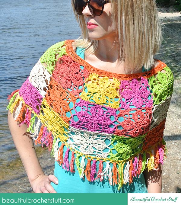 crochet-flower-poncho-free-pattern