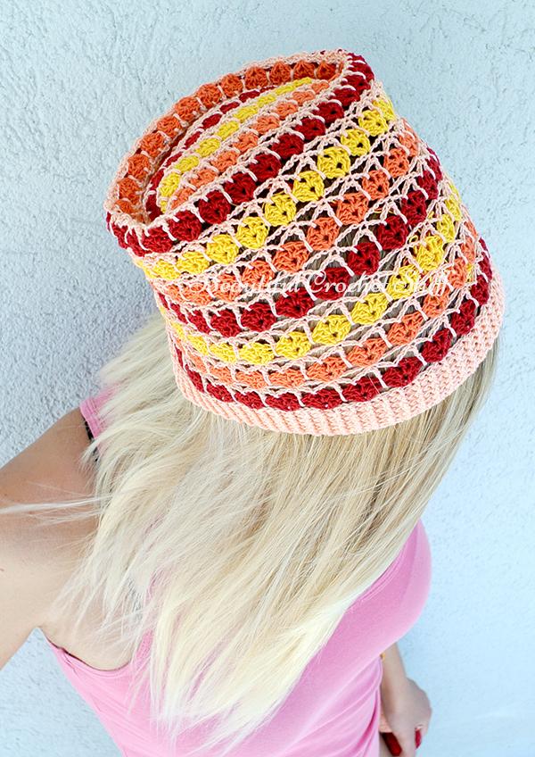 Summer Beanie Hat Crochet Pattern : Crochet Summer Beanie Free Pattern Beautiful Crochet Stuff