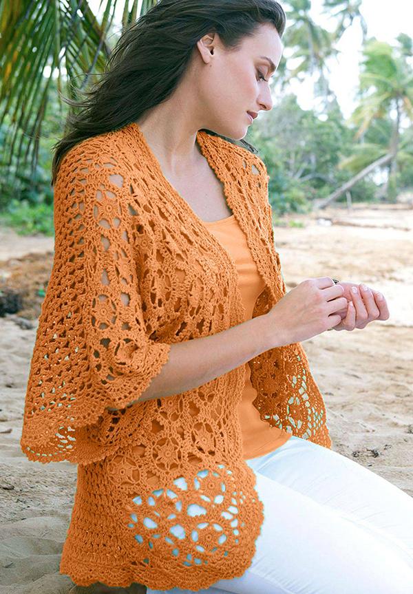 Plus Size Crochet Tunic