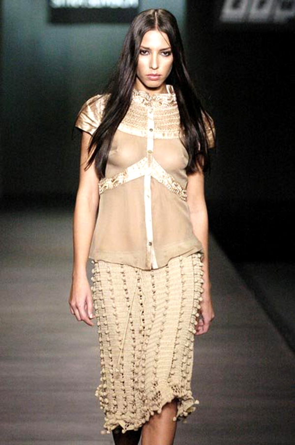Crochet Bobble Skirt