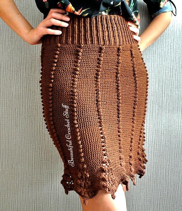 Crochet Midi Skirt Pattern