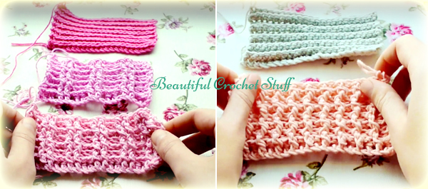 Crochet Ribbing Free Pattern
