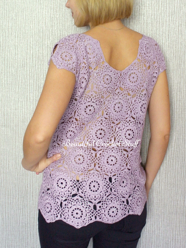 Crochet Top Free Pattern