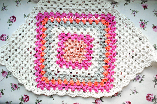 Granny Square Halter Top Free Pattern Beautiful Crochet Stuff