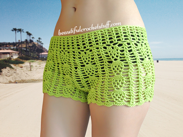 Free Crochet Pattern For Mens Shorts : Free Crochet Shorts Pattern Beautiful Crochet Stuff