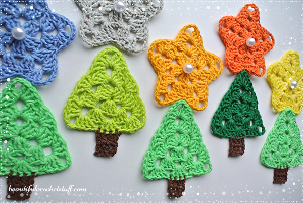 Crochet Christmas Tree Free Pattern | Beautiful Crochet Stuff