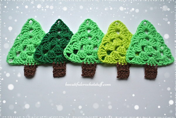 Free Crochet Cotton Christmas Patterns : Crochet Christmas Tree Free Pattern Beautiful Crochet Stuff