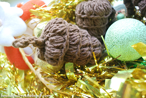 Crochet Pine Cone Free Pattern