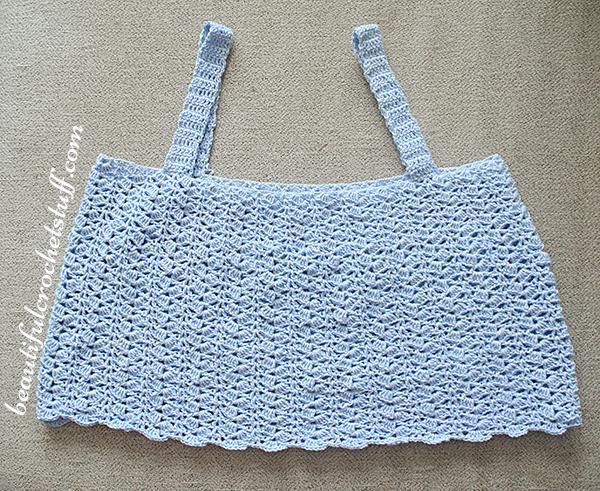 crochet tank top free pattern