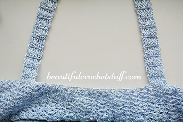 crochet crop top free pattern