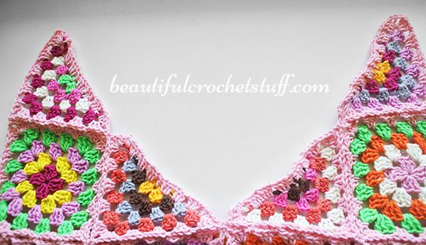 Granny Square Free Crochet-pattern