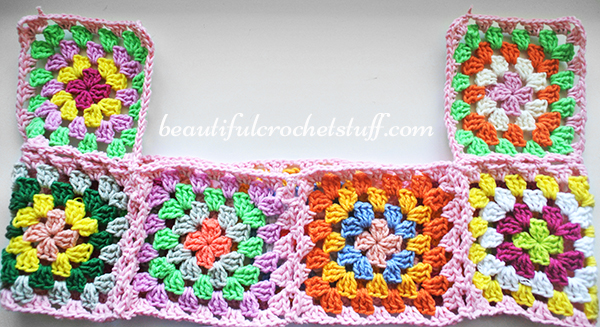 granny square joining