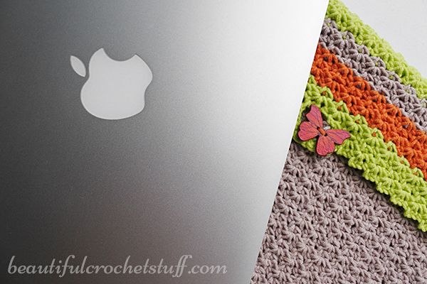 Crochet Case, Sleeve or Cover Pattern