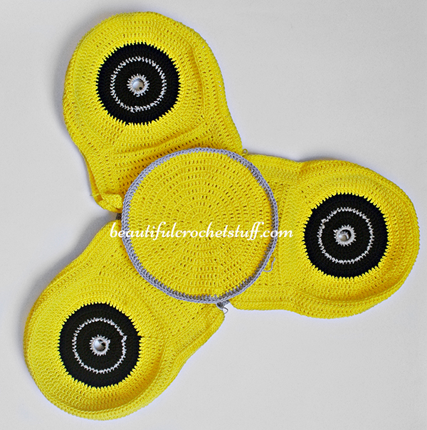 Crochet Spinner Free Pattern