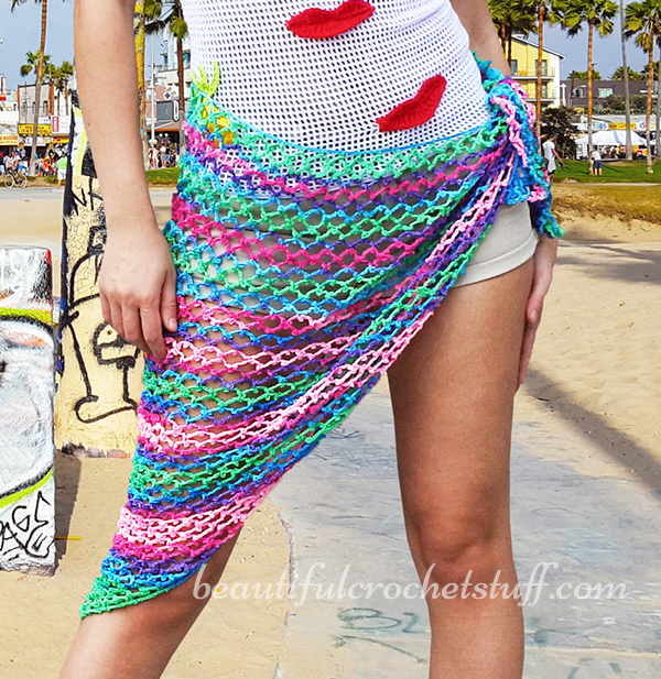 Popular Free Crochet Pattern For Beach Wrap ~ Pakbit for . RC67